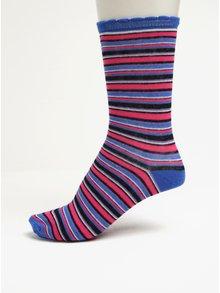 Dárková sada tří párů dámských ponožek v šedé, růžové a modré barvě Something Special