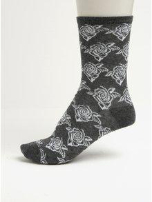 Dárková sada tří párů dámských ponožek v černé, šedé a krémové barvě Something Special