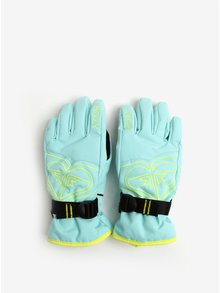 Mentolové holčičí funkční rukavice Roxy Poppy