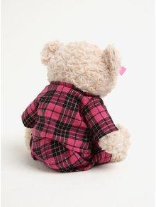 Béžový nahrievací plyšák v tvare medveďa s levanduľovou vôňou Something Special