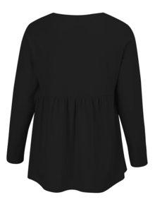 Bluza tunica neagra Ulla Popken