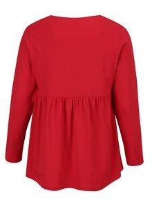 Bluza tunica rosie Ulla Popken