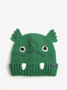 Zelená chlapčenská čiapka v tvare draka Tom Joule