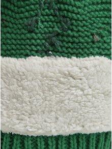 Zelená klučičí čepice ve tvaru draka Tom Joule