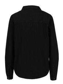 Camasa neagra din denim Noisy May Kendall