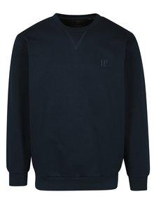 Bluza sport bleumarin cu logo brodat - JP 1880