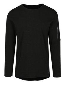 Bluza neagra cu buzunar si fermoar aplicat - ONLY & SONS Monty