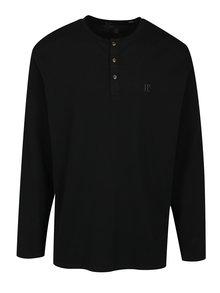 Čierne triko s dlhým rukávom JP 1880
