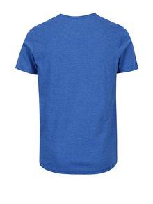 Modré klučičí regular fit tričko s potiskem Quiksilver Classic Last