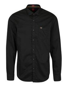 Černá pánská slim fit košile s.Oliver
