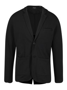 Sacou - blazer negru cu revere din bumbac - ONLY & SONS Thiago