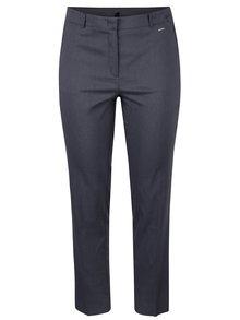 Tmavě šedé rovné kalhoty Ulla Popken
