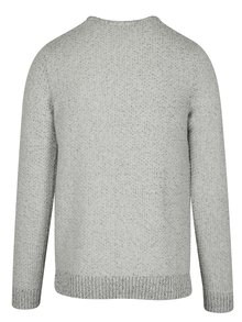 Pulover calduros gri deschis pentru iarna - Selected Homme Marnix