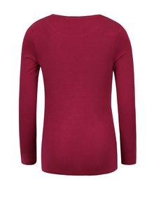 Ružové dievčenské tričko s potlačou a dlhým rukávom name it Hips