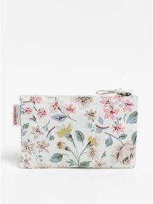 Bílá dámská kosmetická taštička s květovaným vzorem Cath Kidston
