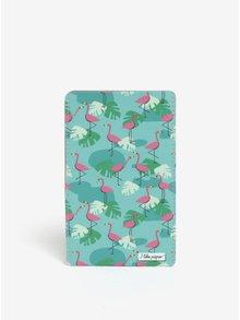 Husa bleu & roz pentru telefoane I like Paper Tropical Heat