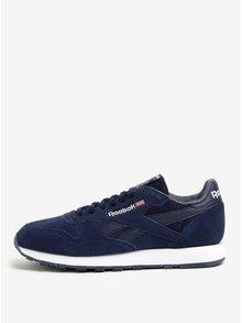 Pantofi sport bleumarin din piele intoarsa pentru barbati - Reebok