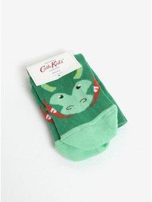 Zelené chlapčenské ponožky s motívom draka Cath Kidston