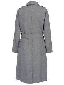 Sivý tenký kabát s vreckami Haily's Luana