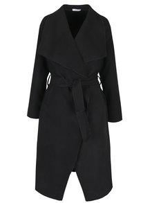 Černý lehký kabát s kapsami Haily´s Luana