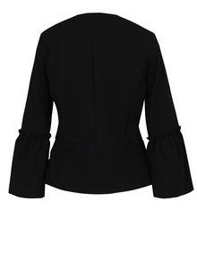 Sacou negru cu maneci clopot - Haily´s Romina