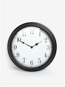 Černo-krémové nástěnné hodiny SIFCON