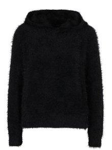 Čierny sveter s kapucňou ONLY Gaia