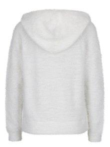 Krémový sveter s kapucňou ONLY Gaia