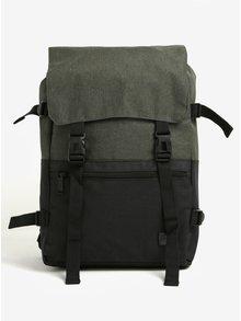 Černo-zelený batoh Spiral Olive-Black