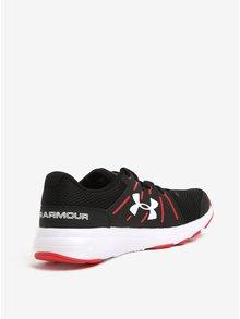 Červeno-čierne pánske tenisky Under Armour Dash
