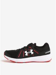 Pantofi sport negru & rosu pentru barbati - Under Armour Dash