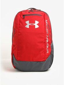 Červený voděodolný batoh Under Armour Hustle