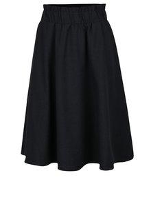 Tmavě modrá žíhaná sukně s kapsami Selected Femme Wolila