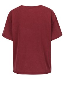 Tricou bordo cu mesaj - Juicy Couture