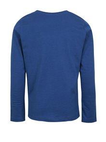 Modré chlapčenské tričko s potlačou name it Henrik