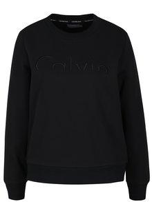 Černá dámská mikina s výšivkou Calvin Klein Jeans Hadar