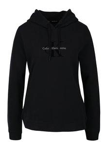 Černá dámská mikina s kapucí Calvin Klein Jeans Honor