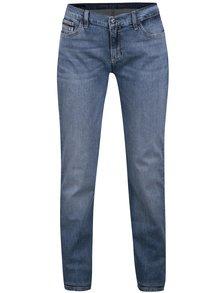 Modré dámské straight fit džíny Calvin Klein Jeans Mid