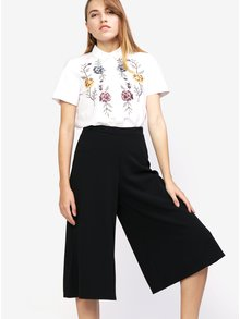 Čierne culottes nohavice MISSGUIDED