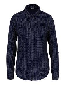 Tmavě modrá puntíkovaná košile TALLY WEiJL