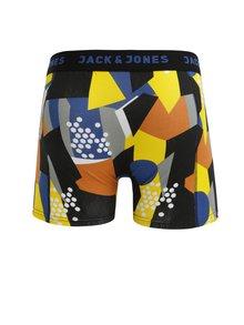 Boxeri albastru&negru cu print - Jack & Jones Path