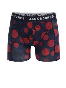 Boxeri rosu&albastru cu print - Jack & Jones Path