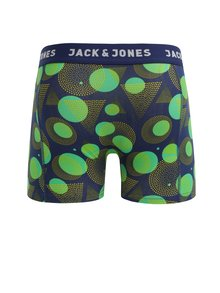 Boxeri verde&albastru cu print - Jack & Jones Path