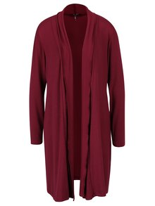 Cardigan lung bordo - Yest