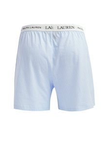 Modré pruhované trenírky Lauren Ralph Lauren Soft Jersey
