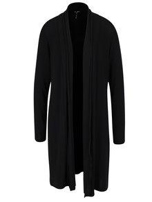 Černý dlouhý cardigan Yest