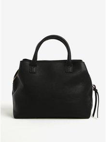 Černá koženková kabelka TALLY WEiJL