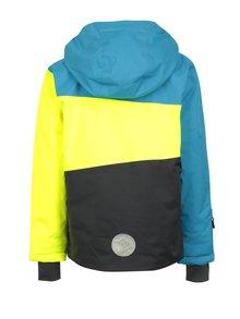 Žlto-modrá chlapčenská zimná funkčná bunda Lego Wear Jazz