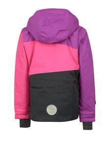 Ružovo-fialová dievčenská zimná funkčná bunda Lego Wear Jenny