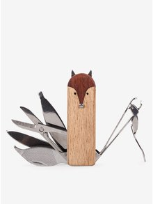 Set na manikúru ve tvaru lišky Kikkerland